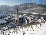 Assmannshausen am Rhein im Winter