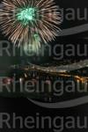 Rhein in Flammen in Rüdesheim am Rhein