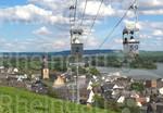Seilbahn zum Niederwald-Denkmal