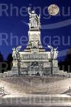 Niederwald-Denkmal bei Nacht