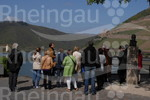 Blick auf das Tor zum UNESCO Welterbe zwischen Bingen und Rüdesheim am Rhein