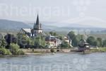 Oestrich-Winkel - Blick vom Rhein