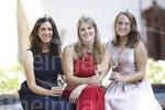 Rheingauer Weinmajestäten Carolin Weiler, Katharina Bausch, Sophie Egert