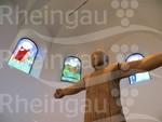 Marienkirche Aulhausen Jesusfigur Copyright Wolfgang Blum