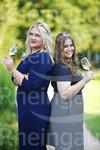 Weinmajestäten 21/22 Annika Walther und Mara Schneider